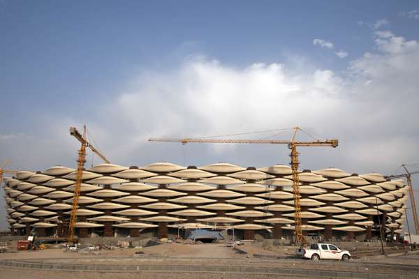 Basra's 65,000-seat Sports City stadium