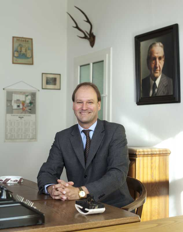 Dr Markus Miele, one of the owners