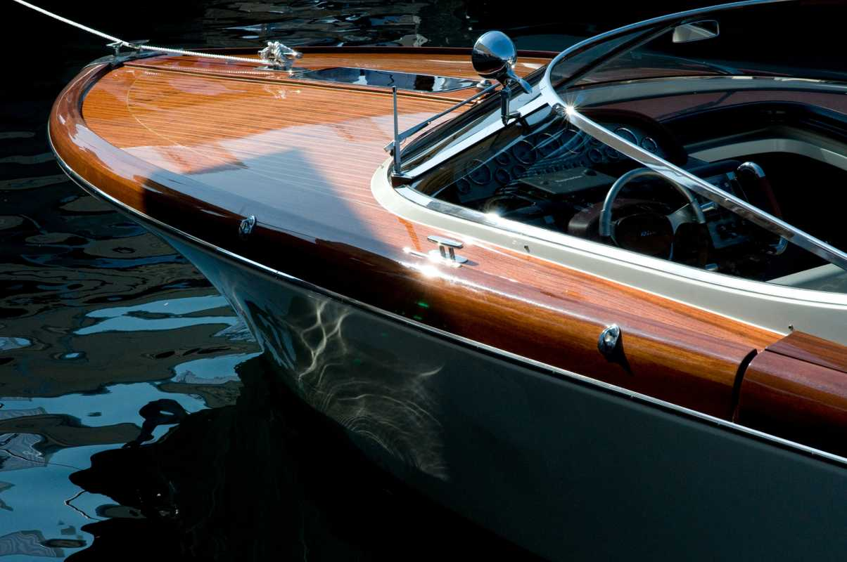 A classic Riva runabout