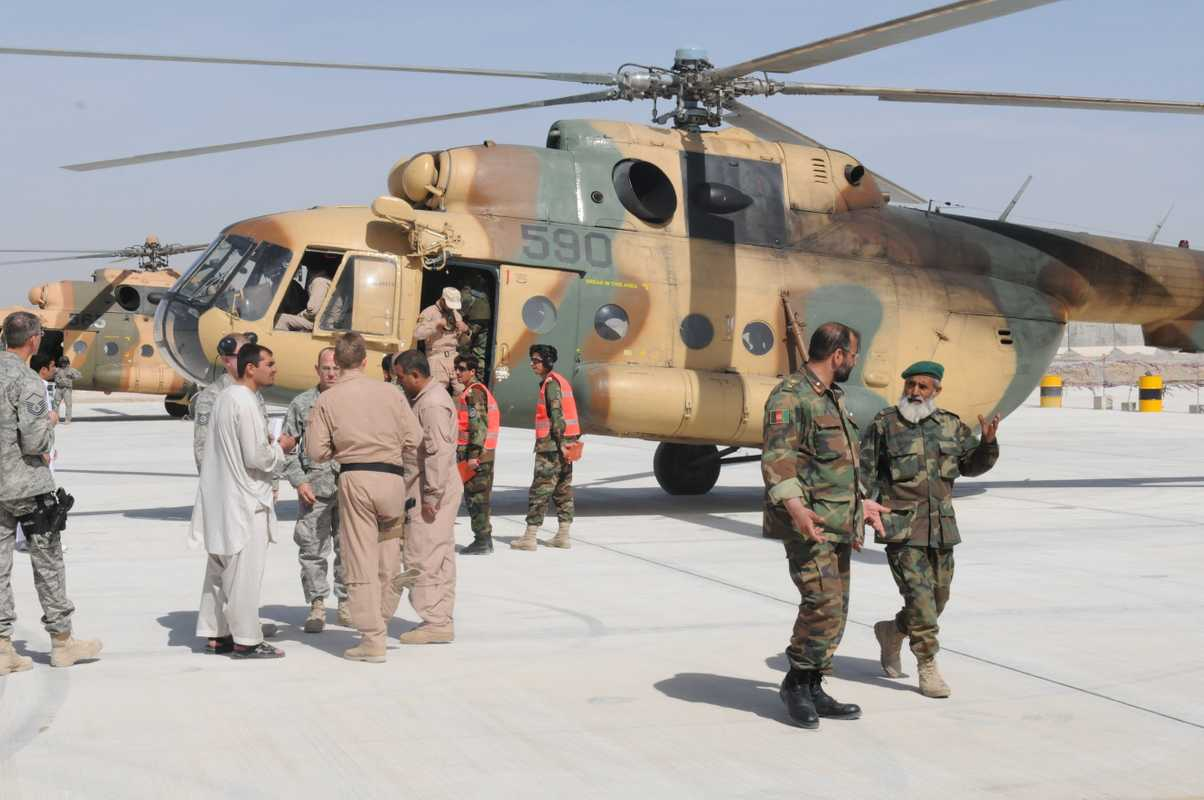 Afghan National Army Air Corp (ANAAC)