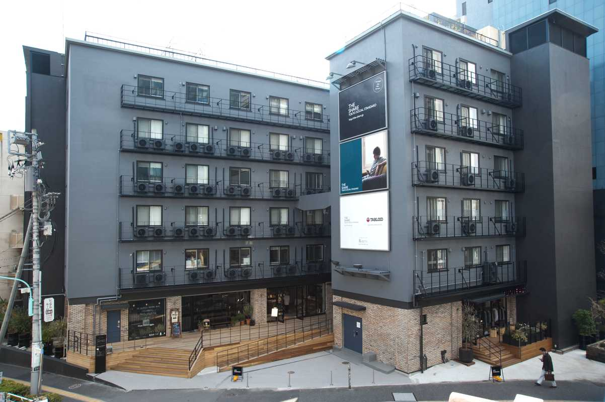 The Share – a former company dorm in Harajuku