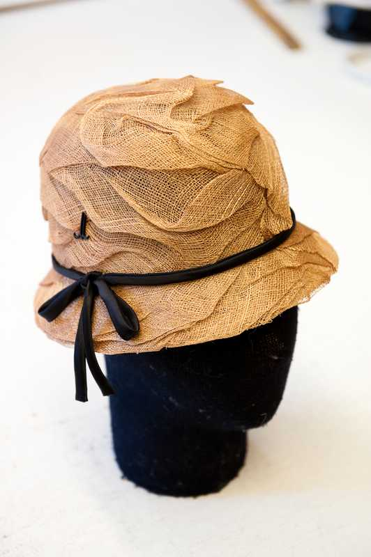 Hat from the spring/summer collection