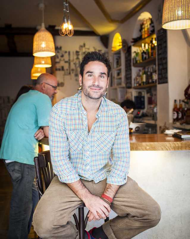 Antonio Santiago, founder and owner of Circo de las Tapas