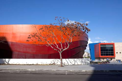 Exterior of the Design Museum, Holon, Israel