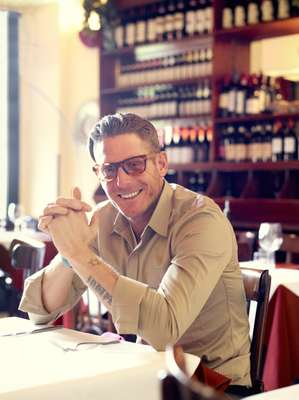 Lapo Elkann, president of Italia Independent, a brand that sells eyewear and ready-to-wear