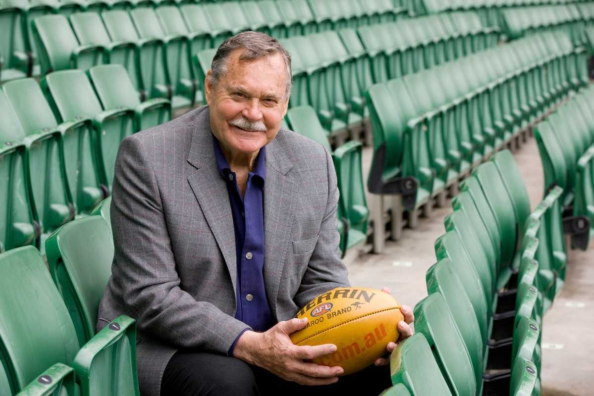 Ron Barassi at the MCG