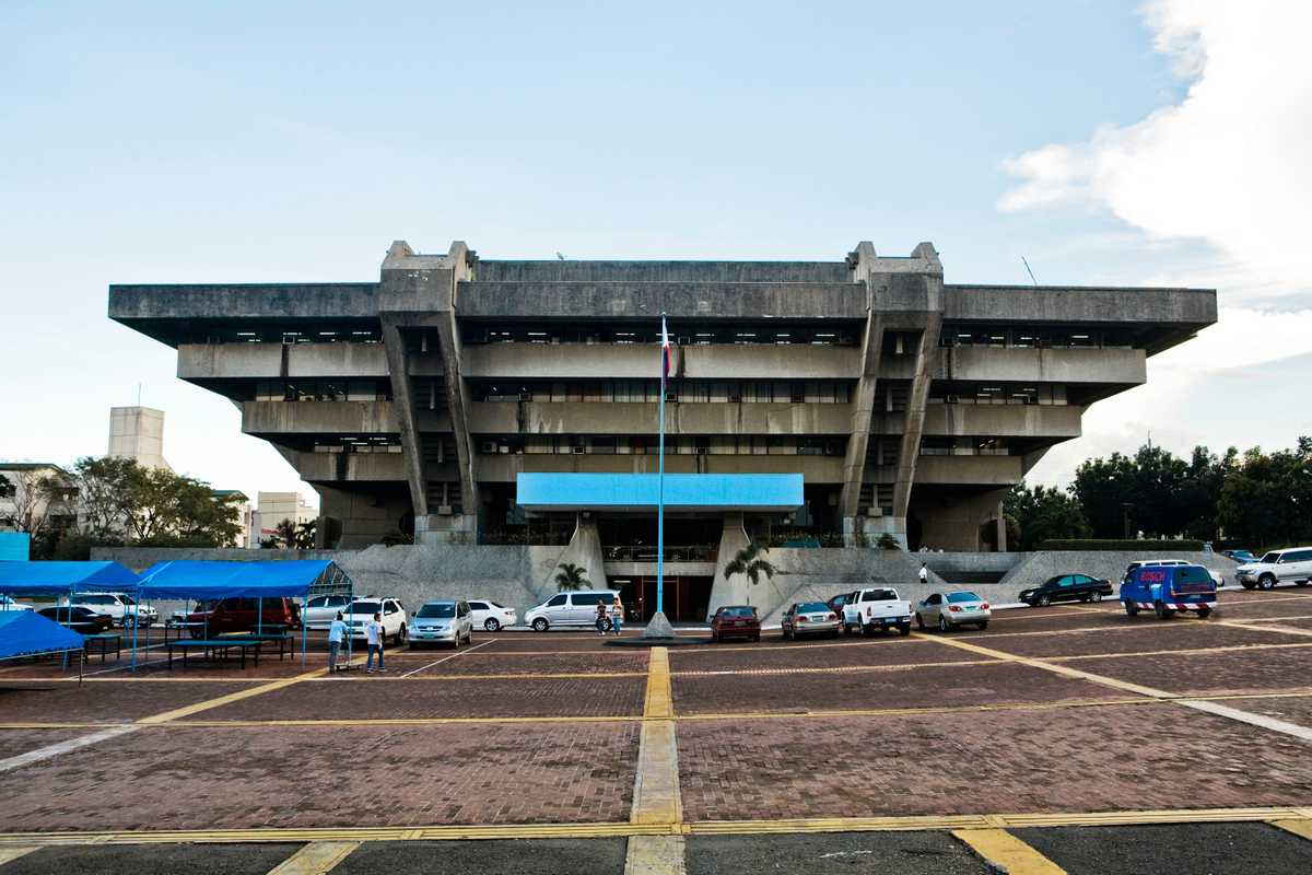 1970s architecture of the Technical and Education Skills Development Authority (Tesda) building