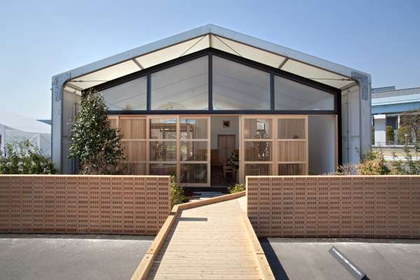 Ito and home fixtures maker Lixil's modern take on a traditional house