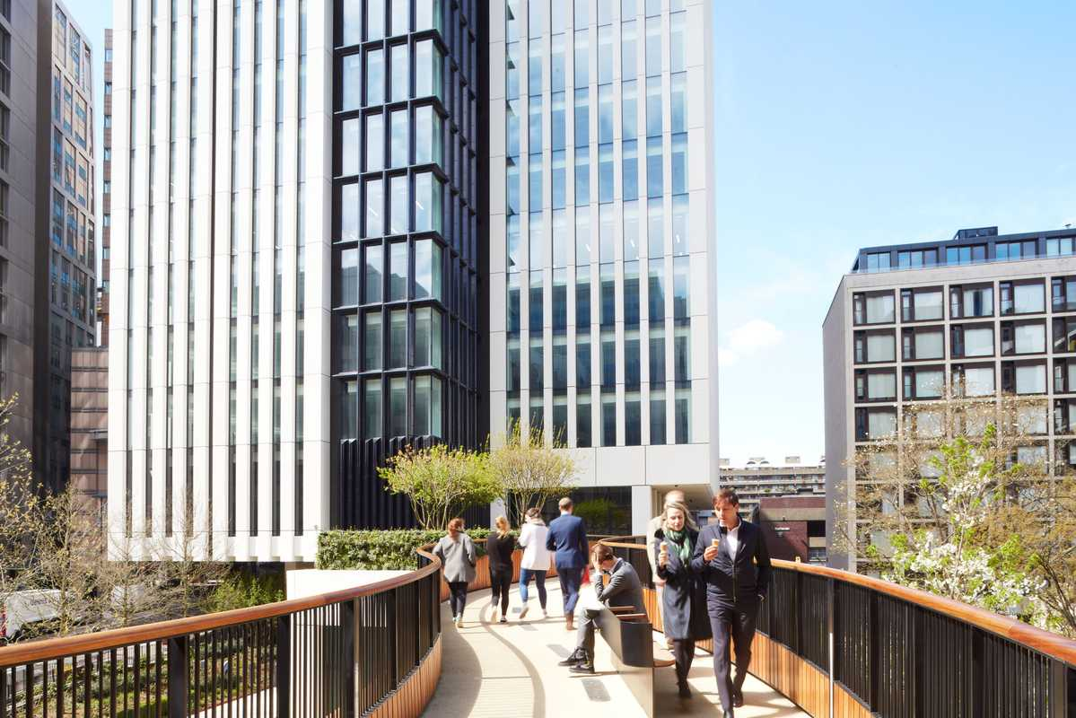 Taking a stroll down London Wall Place