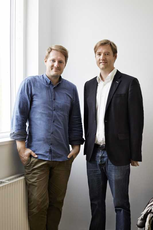Nord Architects Copenhagen' Johannes Molander Pedersen and Morten Rask Gregersen