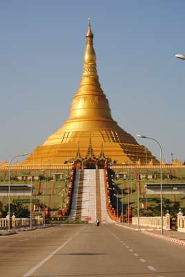 Capital city's Uppatasanti pagoda