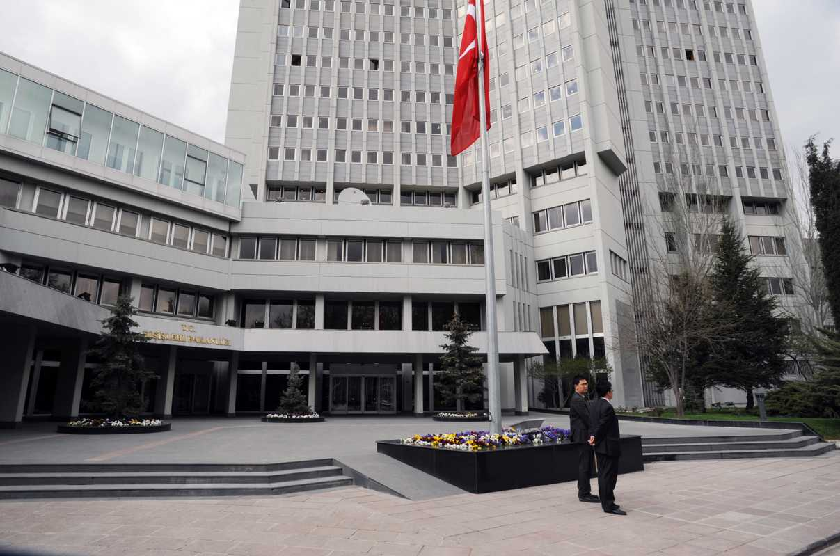 Ministry of Foreign Affairs in Ankara