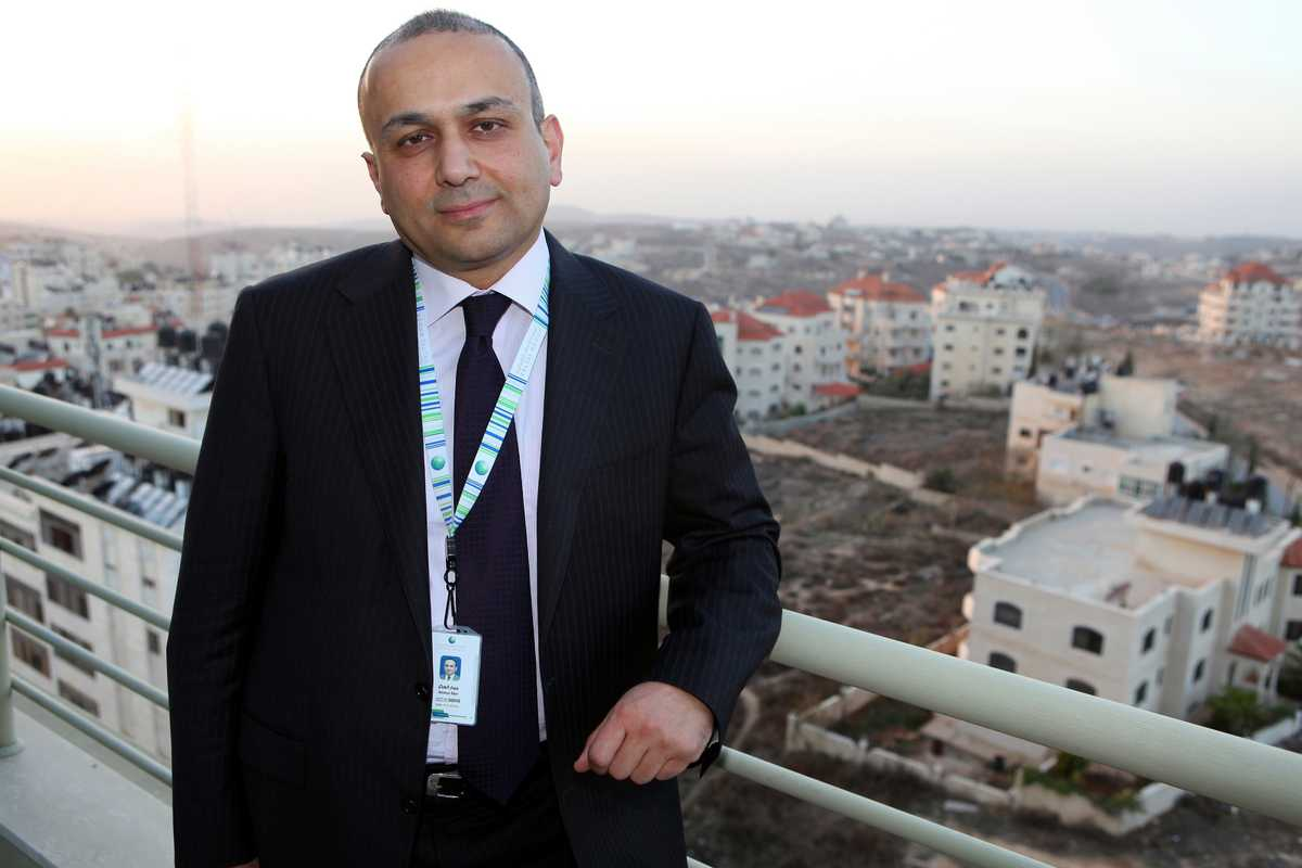 Ammar Aker, CEO of the Paltel Group