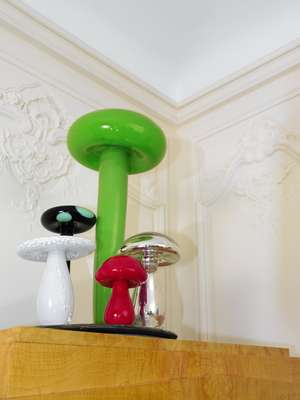 Sotheby's Paris: Rob Wynne's Big Green No. 8