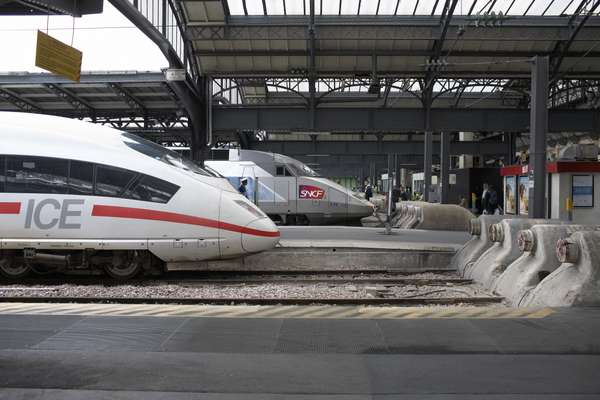 Two potential models for the US: Germany's ICE and France's TGV