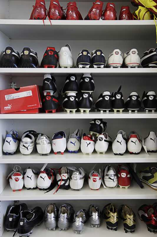 Puma's range of football boots