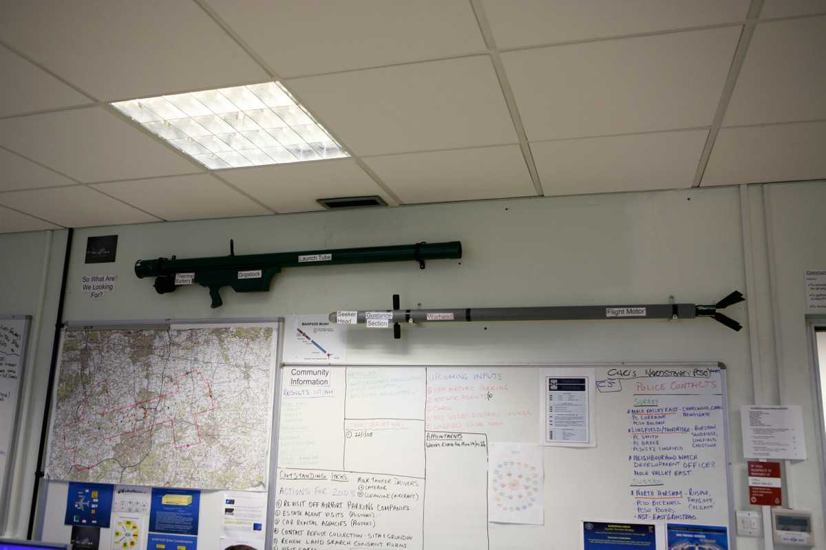 Homemade MANPAD replicas in the Aviation Security Unit