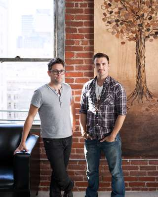 Chris Erven and CJ Thomason, owners of Sire's Eyewear