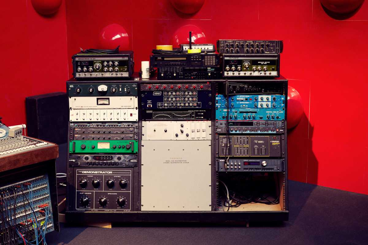 Troelsen has one of the best collections of vintage recording equipment