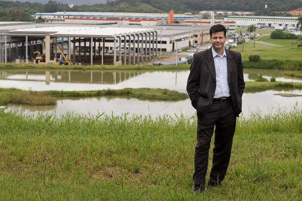 Jonas Tilp, commercial director of Perini Business Park, Joinville