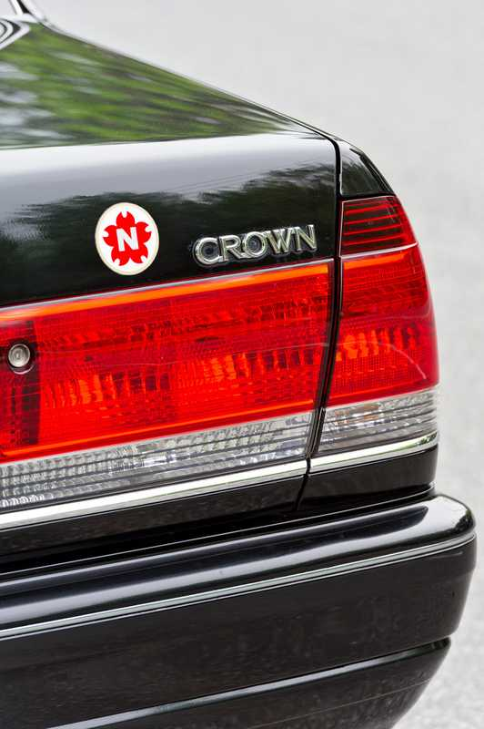 Toyota's Crown is a standard taxicab model