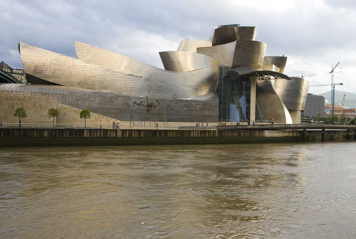 The Guggenheim helped Bilbao when shipbuilding was failing