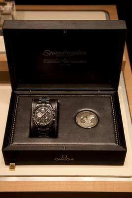 Omega's Speedmaster 40th anniversary re-edition