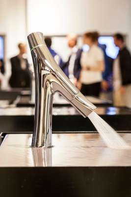 The latest tap model from the Axor Starck line - a collaboration between Axor and Philippe Starck
