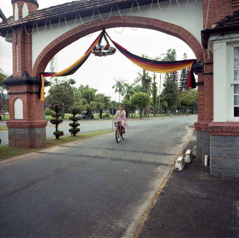 The entrance to Pomerode