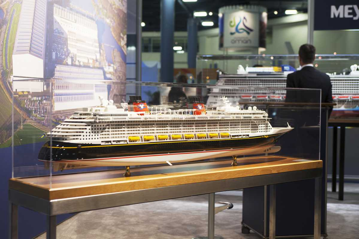 Meyer Werft's ship the 'Disney Dream'
