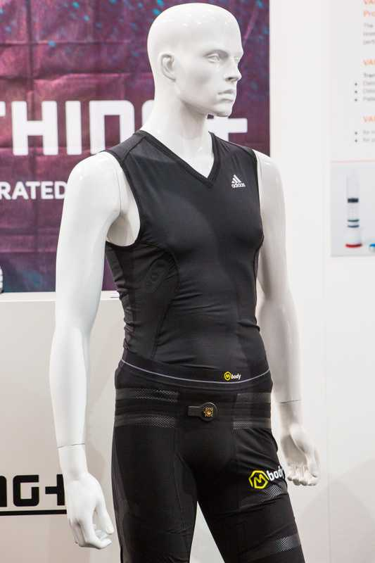 Clothes with biometric sensors by Clothing +