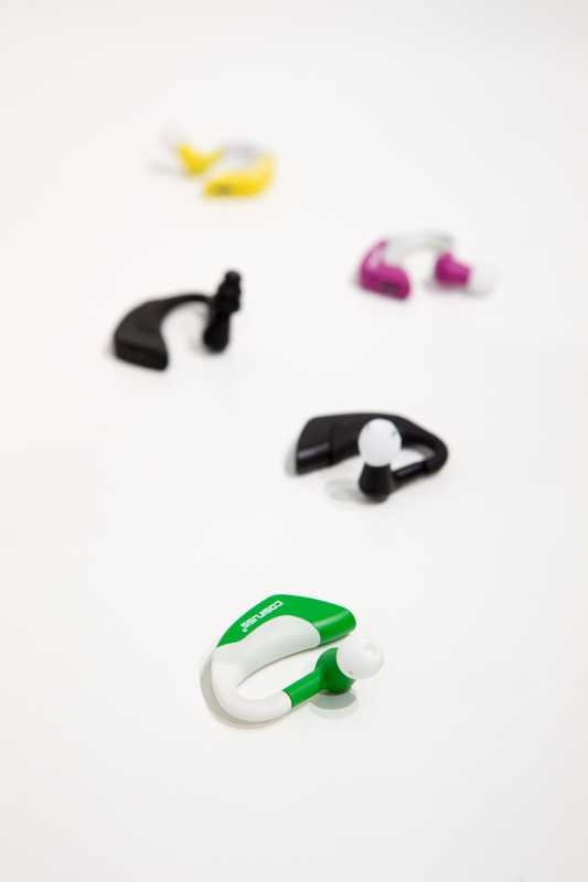 Cosinuss: In-ear devices that can monitor heart rate and temperature