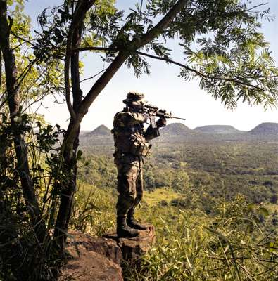 Thick jungle makes policing difficult