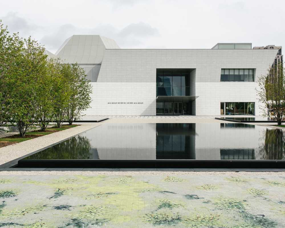 Exterior of the Aga Khan Museum