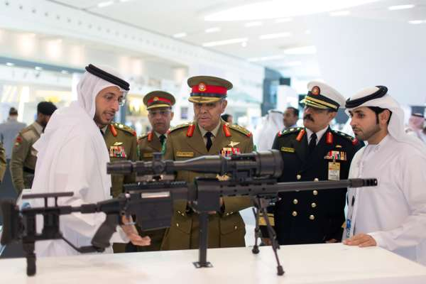 Bahrain defence force chief of staff Lt Gen Dhiab bin Saqr Al Nuaimi