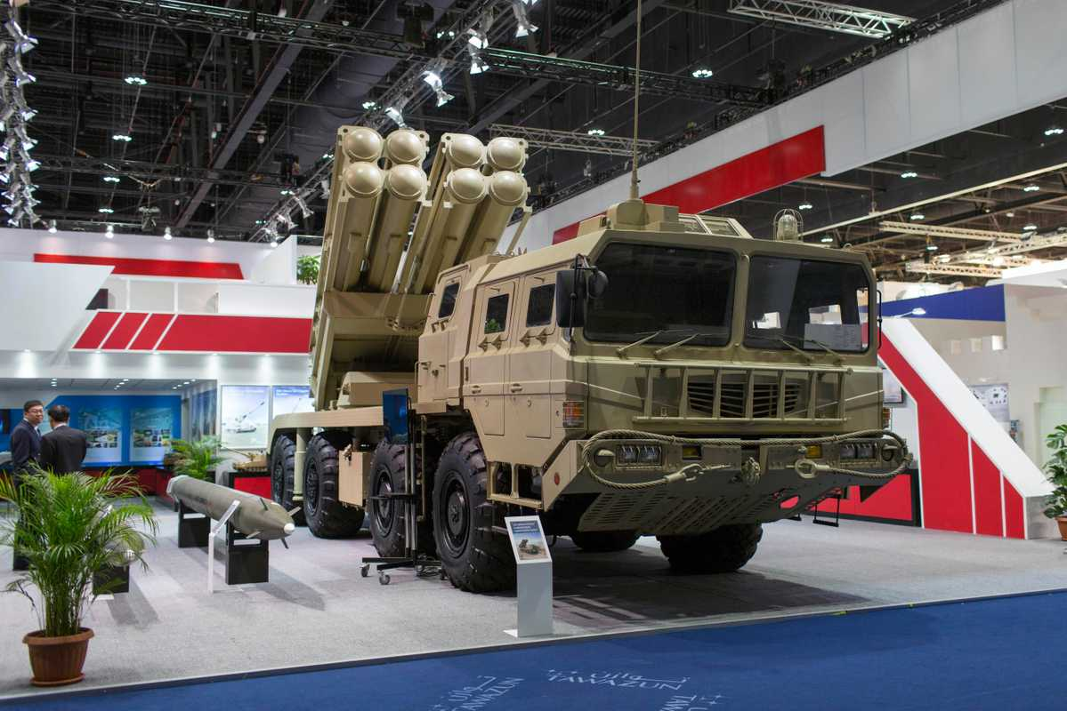 Norinco's AR3 multiple-rocket-launch system