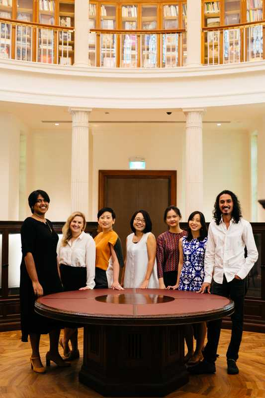 Southeast Asia gallery curators