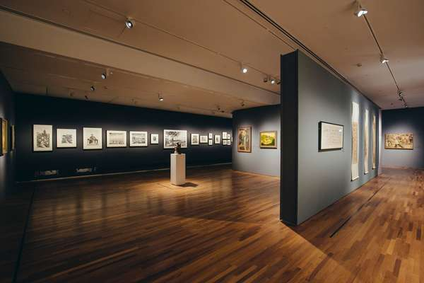 Works are displayed in chronological order