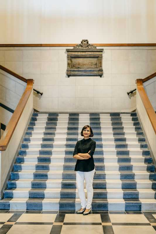 Facilities director Sushma Goh