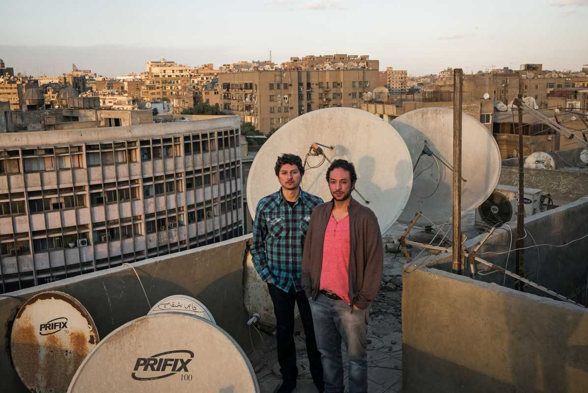 Abdel-Rahman (left) and his brother Tariq are preparing to go global
