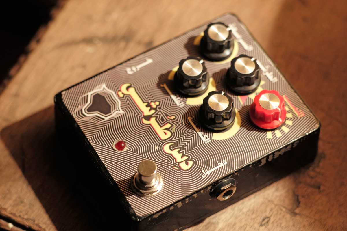 Distortion pedal made by Dandin favourite Youssef Abouzeid