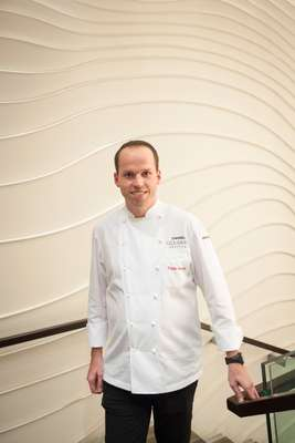 Tristan Brandt, chef and head of gastronomy at Engelhorn