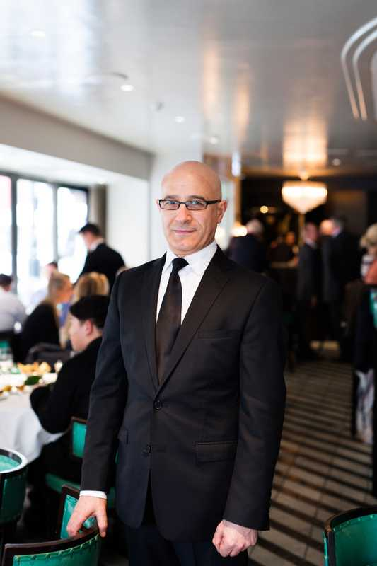 Giacomo Maccioni, a fixture at Cecconi's for more than two decades