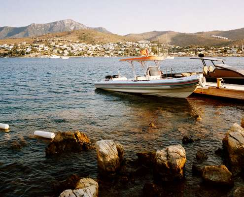 Forty years ago Bodrum's bays were mostly sleepy fishing villages