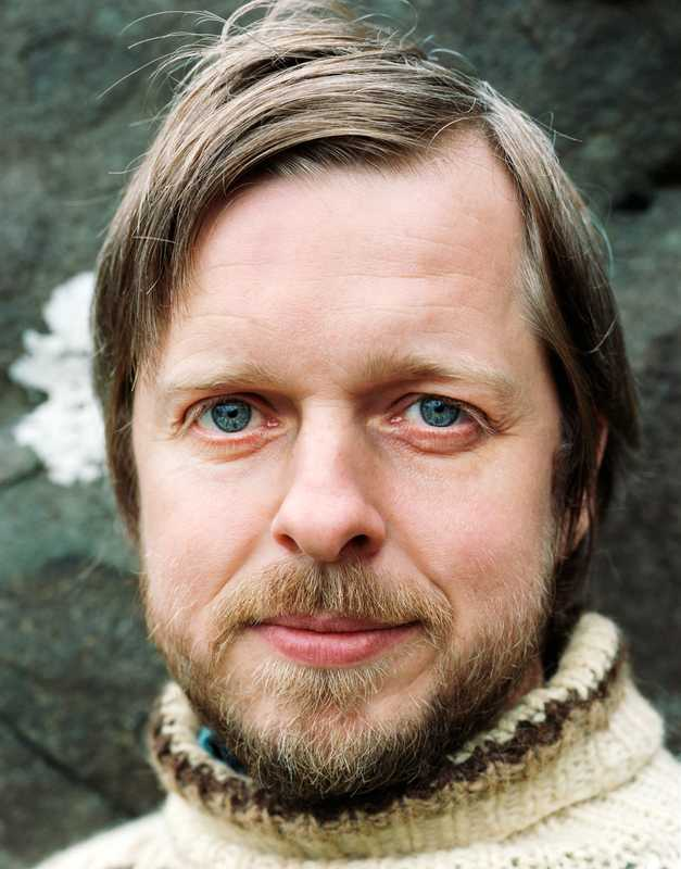 Musician Teitur Lassen, the Faroes' best-known cultural export after patterned jumpers