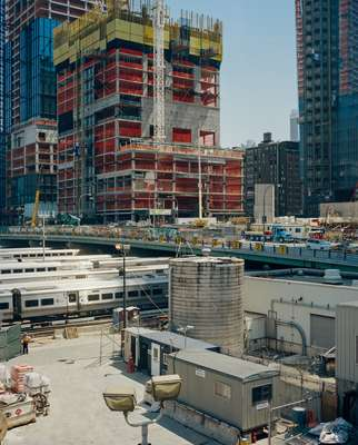 Hudson Yards development in Manhattan
