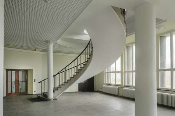 Another interior staircase in the same block
