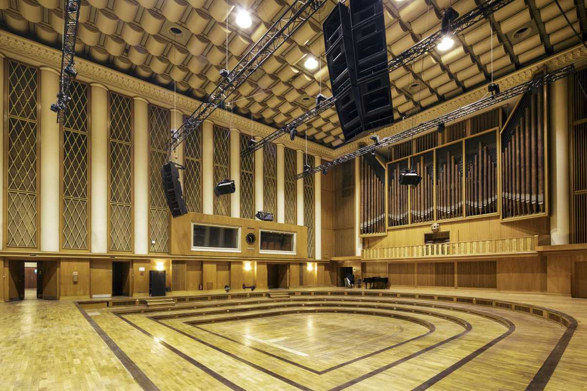 Studio 1 is famed for its great acoustics