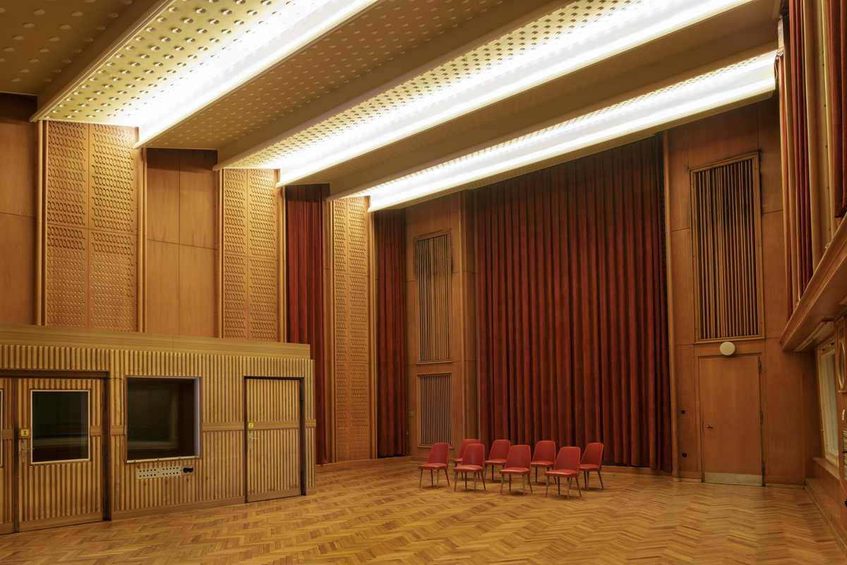 Studio 4, one of the impressive recording facilities
