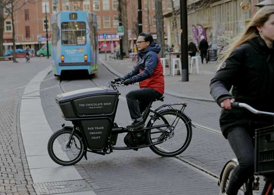 Urban Arrow's Shorty cargo bike